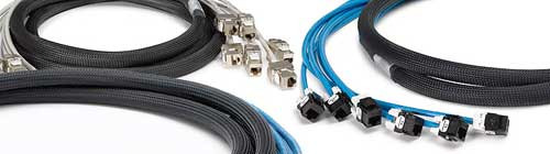 Pre-Terminated Copper Trunk cables cat5e cat6 giga cat6a patch cables cablek custom cable assemblies
