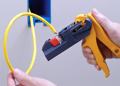 Fluke Networks JackRapid™ Punchdown Termination Tools Cablek Leviton