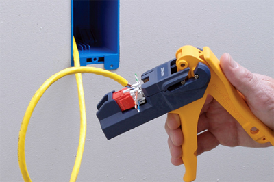 Fluke Networks JackRapid Punchdown Termination Tools Cablek Leviton