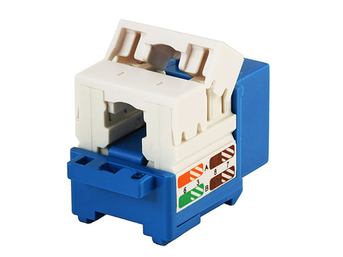 RJ45 Cat5E Modules Keystone 110 punch down, Tool-less, 8-position, 8-conductor CAT5e snap-In Keystone Jacks,
