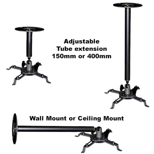 UNIVERSAL PROJECTOR CEILING MOUNT CABLEK PROJECTOR MOUNT