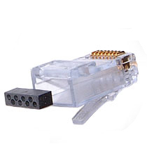 Cat6 RJ45 plug with Load Bar cablek connector