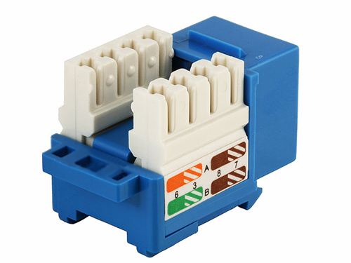 RJ45 Cat5E Modules Keystone 110 punch down, Tool-less, 8-position, 8-conductor CAT5e snap-In Keystone Jacks,cablek