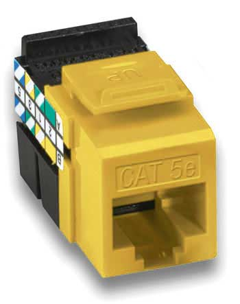 Leviton - GigaMax RJ45 Cat5E Quickport Modules Leviton 5G108-RB5 Quickport Cat 5e Gigaspeed Jack gigamax - Cablek RJ45 Cat5E Quickport Modules, Leviton - Cat5E Modules GigaMax® Category 5e Channel-Rated QuickPort® Snap-In Modules, GigaMax Category 5e QuickPort Snap-In Connectors, White 5G108-RW5 PLV-M8-03 Black 5G108-RE5 PLV-M8-04 Orange 5G108-RO5 PLV-M8-05 Red 5G108-RR5 PLV-M8-06 Yellow 5G108-RY5 PLV-M8-07 Green 5G108-RV5 PLV-M8-08 Blue 5G108-RL5 PLV-M8-09 Leviton - Cat5E Modules