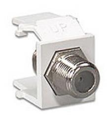 LE-41084-FWF Leviton QuickPort� Snap-in F-Type Connectors Inserts