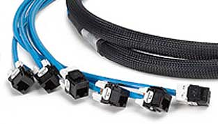 COPPER TRUNK CABLES JACK TO OPEN, CABLEK PRE TERMINATED COPPER TRUNK CABLES, COPPER TRUNK ASSEMBLIES