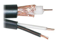 Cablek Security Camera Cable rg59 siamese cable 2c 18 awg power