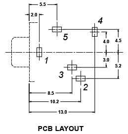 MODE 24-394 CABLEK MPFS-CM STEREO PC MOUNT JACK 3.5mm JACK