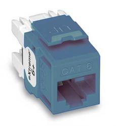 Leviton QuickPort eXtreme 6+ Snap In Connector LE-61110-RL6